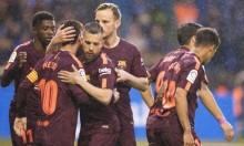 برشلونة بطلا للدوري الإسباني للمرة 25 في تاريخه