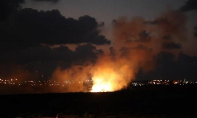 أنباء عن قصف إسرائيلي استهدف موقعا لحزب الله بسورية