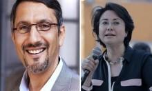 كاليفورنيا: طلاب صهاينة يُلاحقون محاضرا أميركيا لاستضافته حنين زعبي