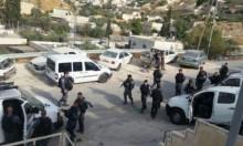 محاولة دهس عناصر من شرطة الاحتلال بالشيخ جراح