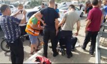 مجد الكروم: إصابة مواطن في حادث طرق
