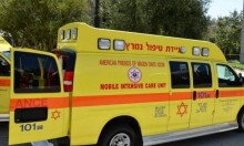النقب: إصابة عاملين إثر سقوط غرض ثقيل من شاحنة