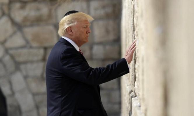ترامب يعلن ثانية: قد أزور القدس خلال الشهر الجاري