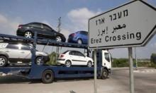 إسرائيل تمنع إدخال السيارات لغزة منذ أكثر من شهر