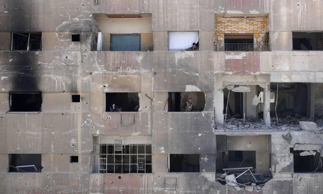 """""""حظر الأسلحة الكيميائية"""" تستخرج عينات من جثث الضحايا في دوما"""