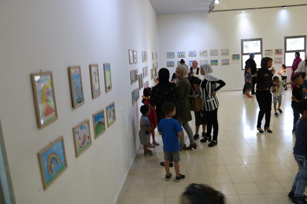 """شفاعمرو: معرض رسومات للأطفال بعنوان """"خيالي حُر"""""""