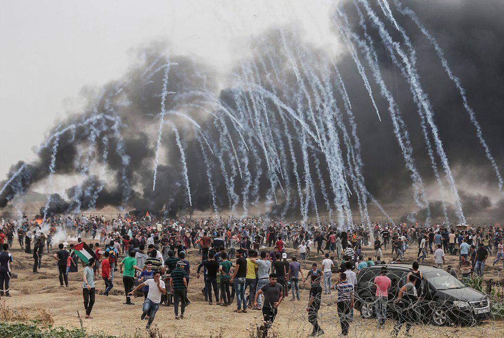 """""""جمعة عمال فلسطين"""": 1143 إصابة بقمع الاحتلال للمسيرات السلمية"""