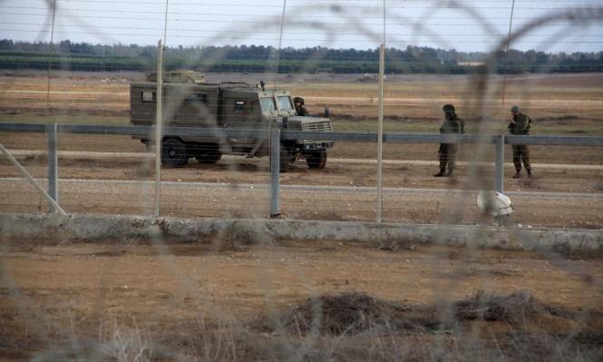 فلسطيني يجتاز السياج الأمني مع غزة وقوات الأمن تبحث عنه
