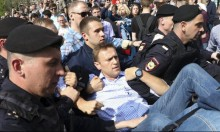السلطات الروسية تفرج عن المعارض نافالني