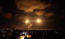 الاحتلال يغير على موقع في غزة