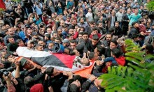 45 شهيدا و8 آلاف إصابة بمسيرات العودة
