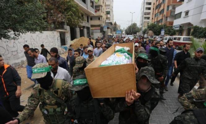 غزة تشيع 6 من شهداء القسام وهنية يتوعد الاحتلال