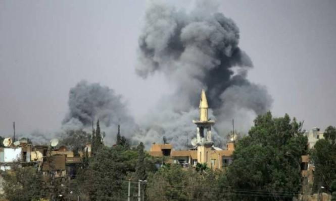 """مقاتلات عراقية تقصف مقرات لـ""""داعش"""" بسورية"""