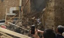 عكّا: انهيار حائط في البلدة القديمة دون وقوع إصابات