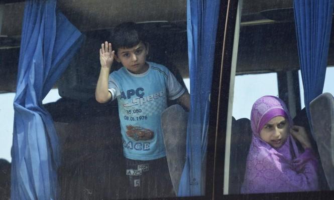 تهجير 8 آلاف مدني من جنوب دمشق منذ 4 أيام