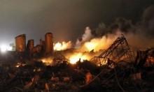 9 قتلى لقوات النظام بقصف إسرائيلي لمستودع أسلحة بدمشق
