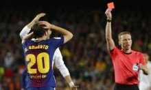 لاعب برشلونة ينهي موسمه بسبب الإيقاف