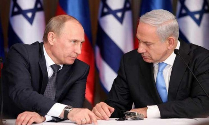 نتنياهو يسعى لضمان التنسيق الأمني مع روسيا بسورية