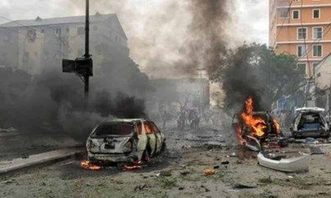 مقتل 5 على الأقل في انفجار بسوق صومالية