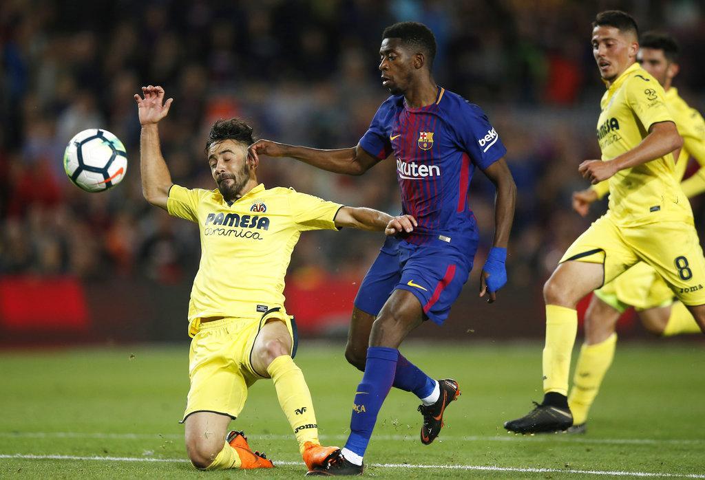 برشلونة يدك شباك فياريال بخماسية مقابل هدف
