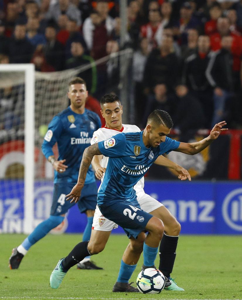 بسبب راموس: خسارة قاسية للريال أمام إشبيلية