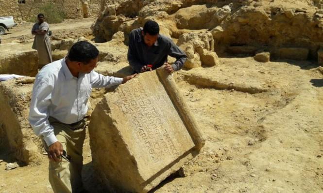 العثور على بقايا معبد من القرن الثّاني قرب سيوة