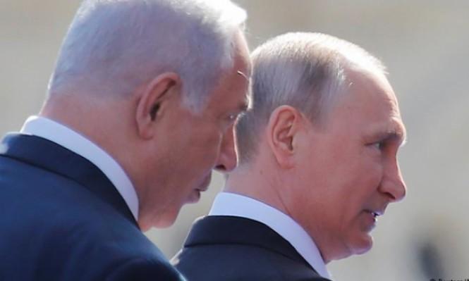 نتنياهو: روسيا لا تحدّ من حرية عمل إسرائيل بسورية