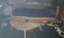 أبو سنان: إصابة شخصين إثر حريق في منزل