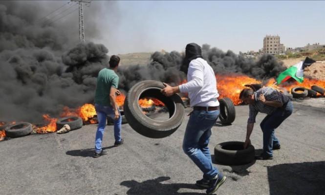 الاحتلال يقمع مسيرات الضفة ويعتدي على المعتصمين بالقدس
