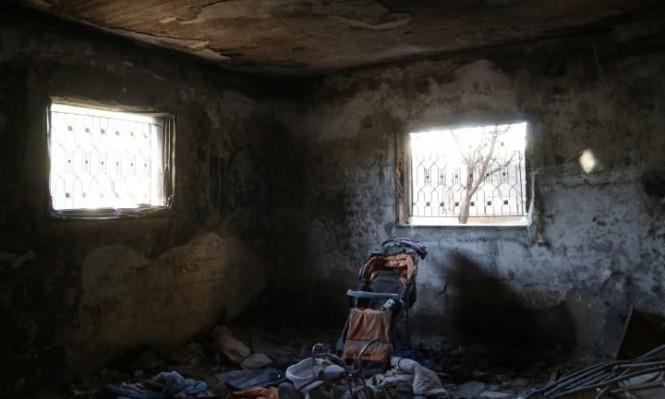 الإرهاب اليهودي: إحراق منزل في قرية دوما