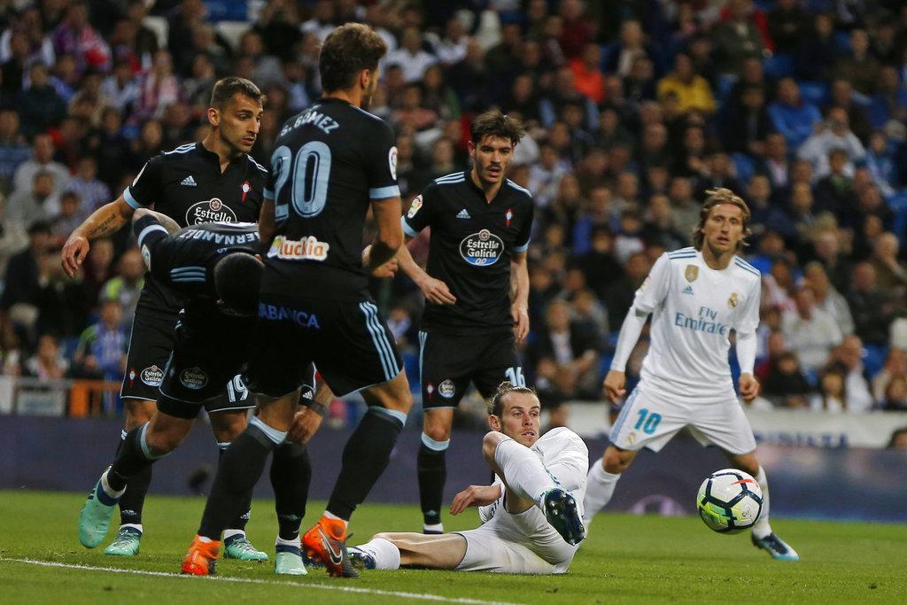 ريال مدريد يمطر شباك سيلتا فيغو بسداسية