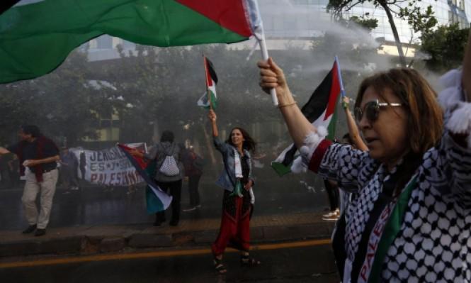"""العالم الافتراضي يمتلئ بـ""""#فلسطيني_يعني"""""""