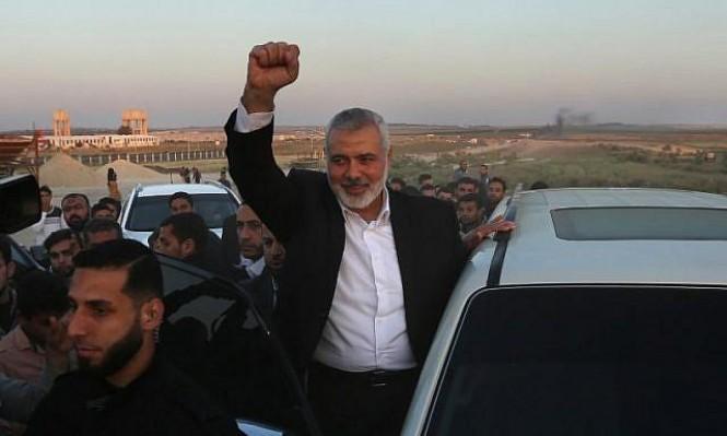 وفد من حماس يغادر غزة للقاء عباس كامل