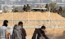 توغل آليات الاحتلال بقطاع غزة قبيل بدء مسيرة العودة
