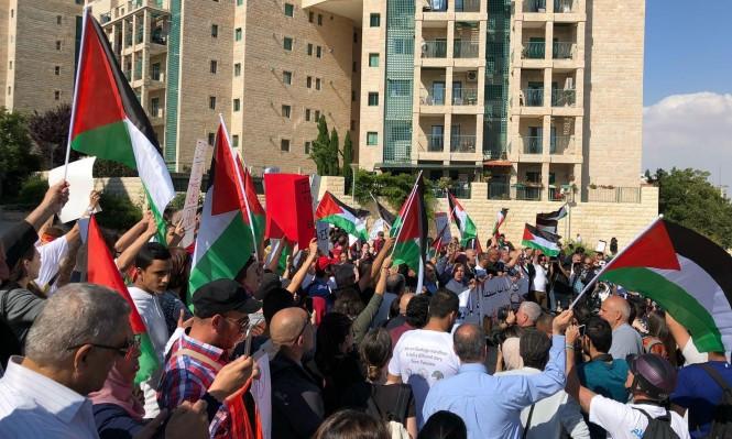 التجمع: أميركا تشارك إسرائيل في جرائم حرب ضد مسيرة العودة بغزة