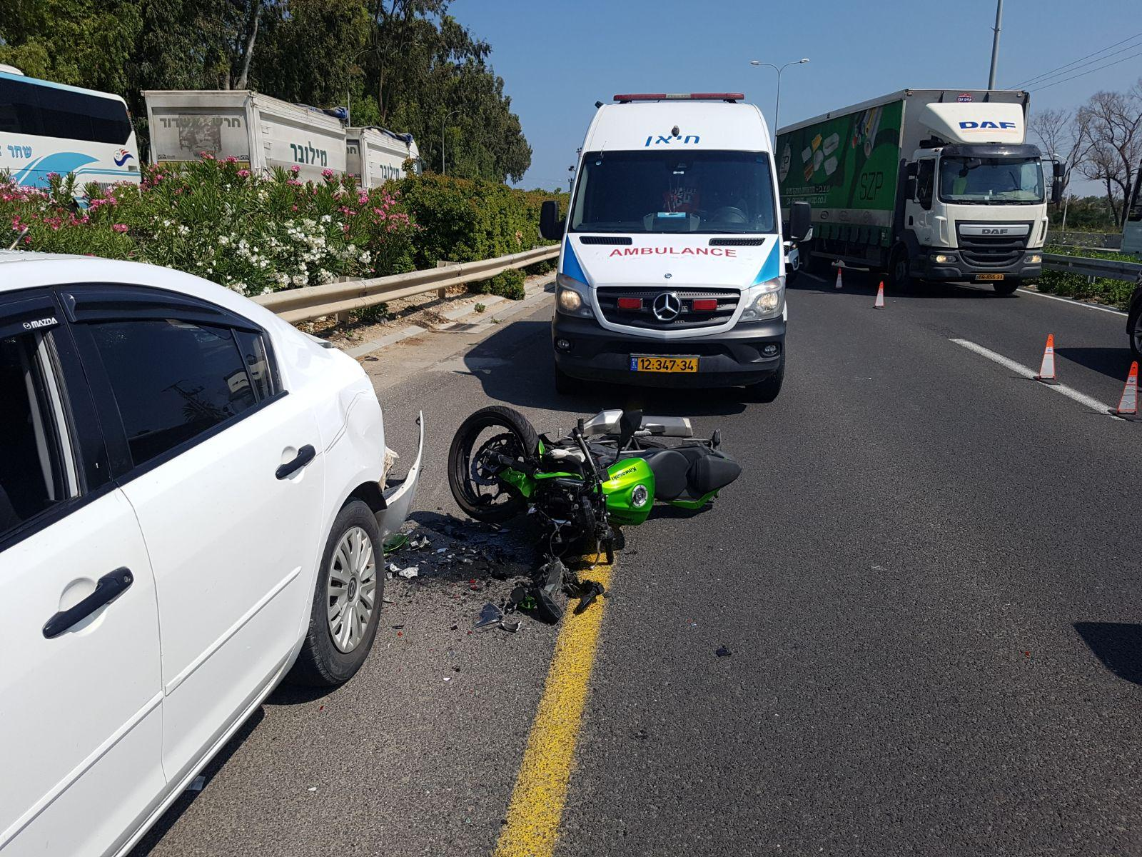 إصابتان في حادث طرق قرب عكا