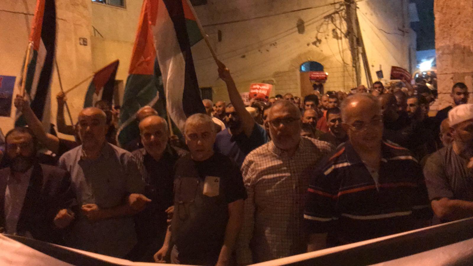 اعتقالات في مظاهرات احتجاجية على مجازر الاحتلال بغزة
