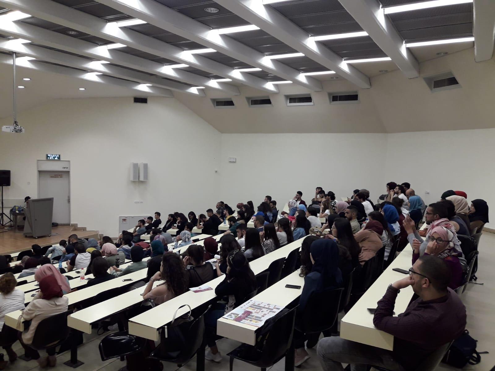 الحركة الطلابية للعرب في الجامعة العبرية بالقدس تُحيي ذكرى النكبة