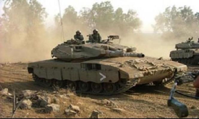 قصف موقع لحماس شمالي قطاع غزة