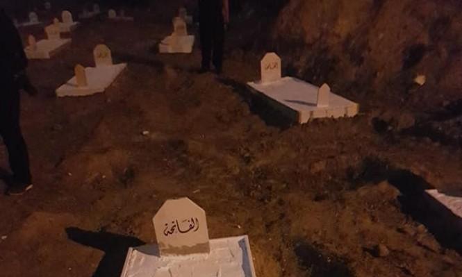 """اعتقال 10 أشخاص بعد اقتحام الشرطة لمقبرة """"الإسعاف"""" بيافا"""