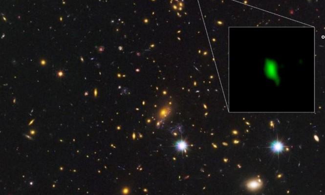 رصدُ آثار أوكسجين في مجرّة تبعد حوالي 13.2 مليار سنة ضوئيّة