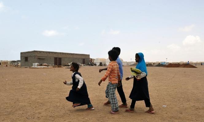 العفو الدولية: هجوم التحالف تسبب بنزوح عشرات آلاف المدنيين باليمن