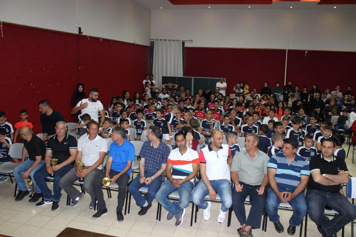 بمشاركة المئات: مدرسة هـ. البعنة تحتفي بنهاية الموسم