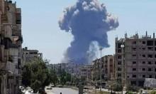 سورية: دوي انفجارات في محيط مطار حماة العسكري