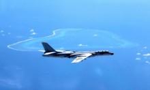هبوط طائرات حربية صينيّة في بحر الصين الجنوبي المتنازع عليه