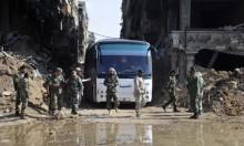 """مقاتلون من """"داعش"""" يغادرون ريف دمشق بالتوافق مع النظام"""