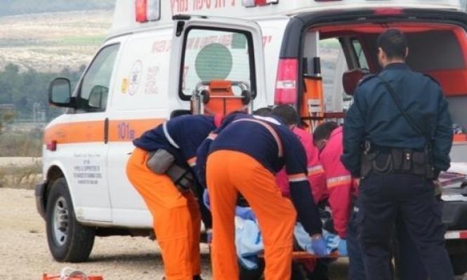 إصابة شخص في حادث دهس قرب معاوية