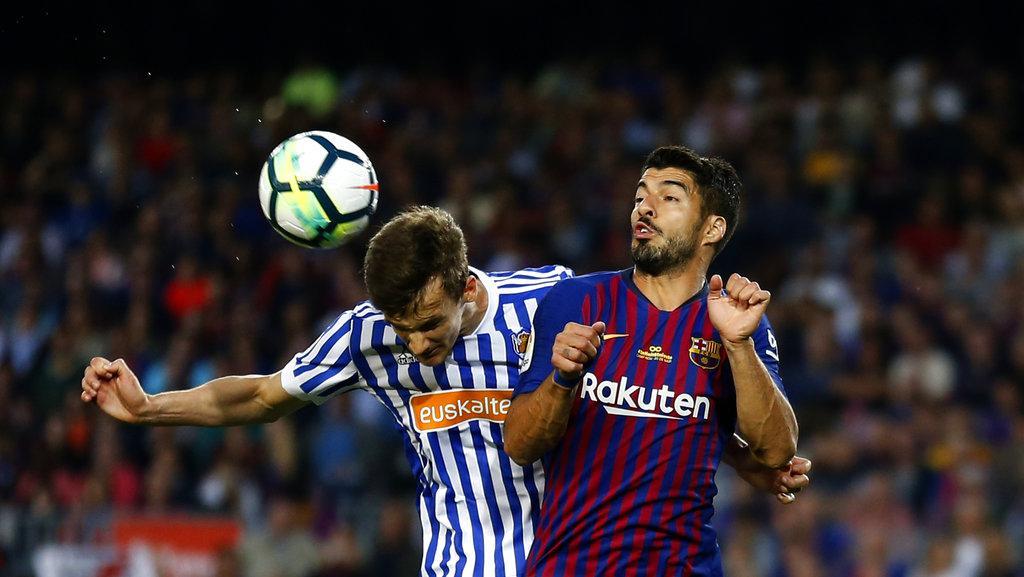 في ليلة وداع إنييستا: برشلونة يفوز على سوسييداد