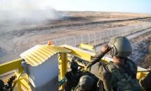 إضرام النيران ببرج عسكري والاحتلال يقصف مواقع بغزة