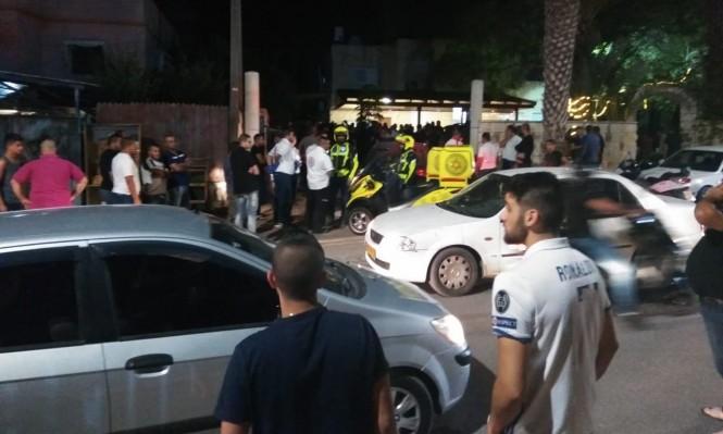 كفر قرع:  إصابة شخصين بجريمة إطلاق نار